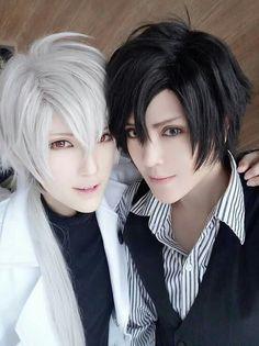 Jumin and Zen cosplay