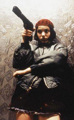 natalie portman as mathilda in léon: the professional, luc besson 1994.