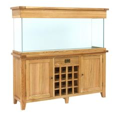 AquaOak- 160cm Wine Rack Aquarium www.fishkeeper.co.uk #Aquariums