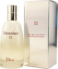 Fahrenheit 32 By Christian Dior For Men Eau De Toilette Spray, 3.4-Ounces by Dior. $70.30. Fahrenheit 32 by Christian Dior for Men. Fahrenheit 32 by Christian Dior for Men - 3.4 oz EDT Spray. Launched by the design house of Christian Dior.Whenapplyingany fragrance please consider that there are several factors which can affect the natural smell of your skin and, in turn, the way a scent smells on you. For instance, your mood, stress level, age, body chemistry,die...