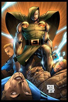 Doctor Doom vs. Fantastic Four