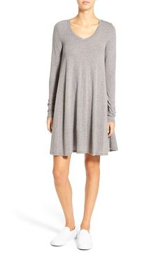 Volcom 'Lived in Snow' Babydoll Dress available at #Nordstrom