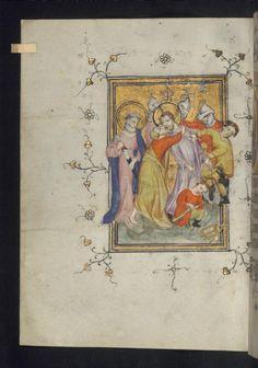 Illuminated Manuscript - Betrayal, W.185.14V, Utrecht, Netherlands