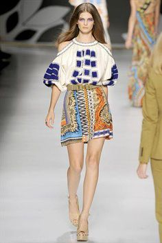 Emilio Pucci 2011 #RomanianBlouse inspiration #ethnicwear
