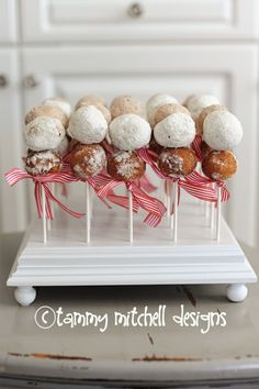 donuts on sticks cute and easy party food ideas tammy mitchell designs