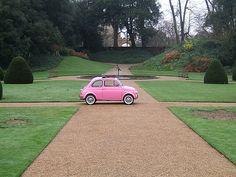 mini pink car FROM: #yearofcolor mini