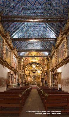Iglesia de Andahuaylillas. Cuzco, Perú