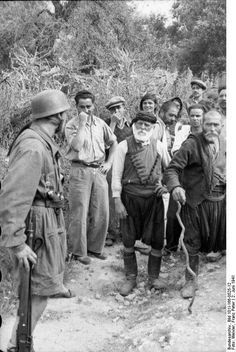 On This Day June Brutal Nazi Massacre of Cretan Village - The Pappas Post Luftwaffe, Paratrooper, Narvik, Battle Of Crete, Crete Island, Greek History, In Ancient Times, German Army, North Africa