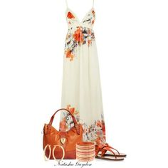 They are airy and stylish. Maxi dress outfits are starring both in morning appearances on the beach or around town, and on women outfits i. Mode Outfits, Dress Outfits, Casual Outfits, Fashion Outfits, Womens Fashion, Dress Fashion, Dress Casual, Fashion Ideas, Wearing Dresses