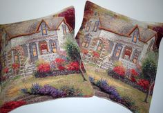Set of  2 Bohemian Ethnic Wool  Pillow for Home by BOHEMIANPILLOW, $140.00
