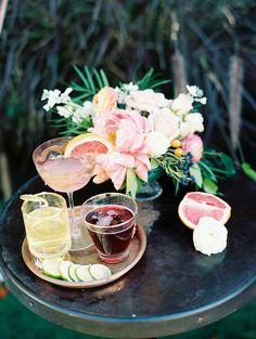 Citrus Inspired Summer Wedding Cocktails