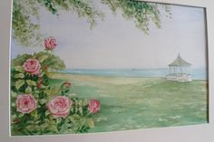 Items similar to Original watercolour of Lakeside park Niagara on the Lake with rosebush on Etsy Lakeside Park, Watercolour, Healthy Eating, Handmade Gifts, Free Shipping, My Favorite Things, The Originals, Artist, Painting