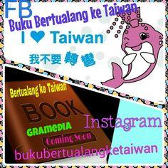 "#Putri #Lumba_Lumba #Dolphin #Pink #Merah_muda #Taiwan  #Buku ""Bertualang ke Taiwan"" #Terbitan #Gramedia #ComingSoon!!! 快 出現 囖  #Baca #BukuBertualangKeTaiwan, Ikuti Petunjuknya,Rasakan Sensasi Petualangannya (^ω^)  #愛 台灣 以前,的時候, 以後 (^ω^) Love Taiwan Before, During, and After  Taiwan is a Beautiful Heart Because Taiwan Will Touch you (^ω^) #BKT"