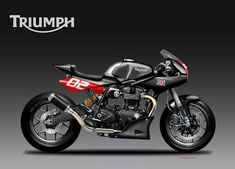 Motosketches: TRIUMPH BONNIE 1200 TRACK BOY Motorcycle Design, Track, Vehicles, Motorbikes, Runway, Trucks, Running, Track And Field, Vehicle