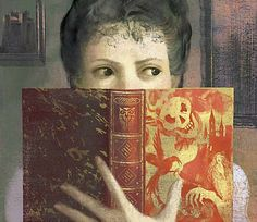 """NORTHANGER ABBEY by Jane Austen. Cover Art (2010) © Anna and Elana Balbusso (Artists & Twins. Milan, Italy).  """"No one who had ever seen Catherine Morland in her infancy, would have supposed her born to be an heroine"""""""""""