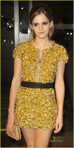 Emma Watson Gold.