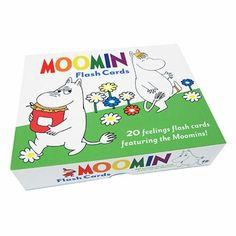 Moomin Feelings Flash Cards - Click to enlarge