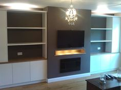 inbuilt joinery + tv alcove - Google Search