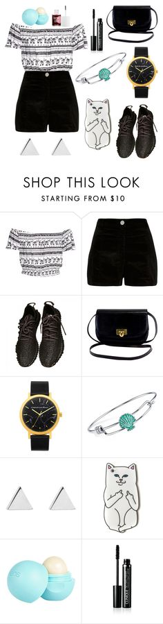 """""""Casual Day Out"""" by aly267 on Polyvore featuring River Island, Disney, Jennifer Meyer Jewelry, Burberry and Benefit"""