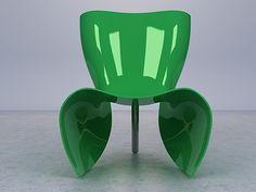 Felt chair - Cappellini, Marc Newson