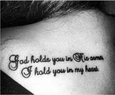 Emotional memorial tattoos