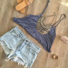 Brandy Melville Tank Only worn once and in perfect condition! This tank is cropped and flowy...it's also so soft. ❤️ Brandy Melville Tops Crop Tops