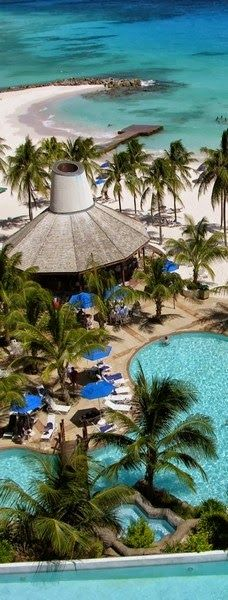 Beaches -Relax Mind - Pools and Beach Hilton Barbados - Explore the World with Travel Nerd Nici, one Country at a Time. http://TravelNerdNici.com