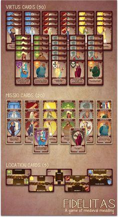 Fidelitas: A card game of medieval meddling for 2-4 players! by Jason Kotarski — Kickstarter