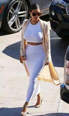 Kim... - Kim Kardashian Style