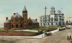 Cossit Library and Custom House, Memphis, TN: Lost Treasure. A lot of buildings have been torn down in Tennessee History.