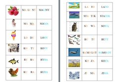 nauka czytania Learn Polish, Website Color Schemes, Polish Language, Homeschool, Education, Reading, Speech Language Therapy, Cuba, Bedroom