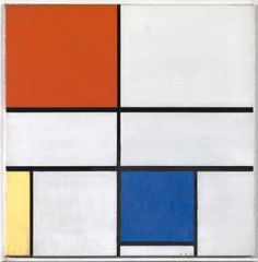 Piet Mondrian Exhibit at Tate Liverpool (Mondrian and his Studios)