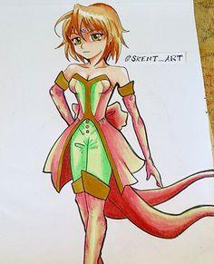 OC ~ drawing @skent_art IG