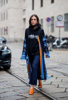 Our Favorite Street Style Shots From Milan Fashion Week via @WhoWhatWearUK