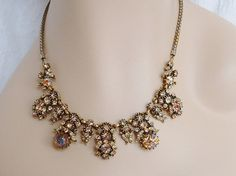 Vintage Hollycraft COPR 1958 Necklace  by CarriersCozyCottage, $185.00