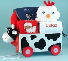 If you are expecting to be grandparents sometime soon then this a great gift to get your children and bring some joy into your new grandson or granddaughter's life. This is a quality Baby Boutique Lay