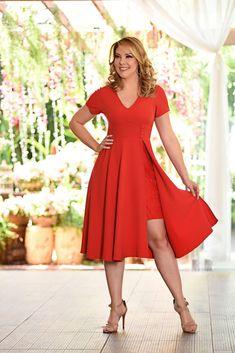 Vestido De Renda Floral Sem Costura Rede com decote frente única Tamanho Único /& Rainha