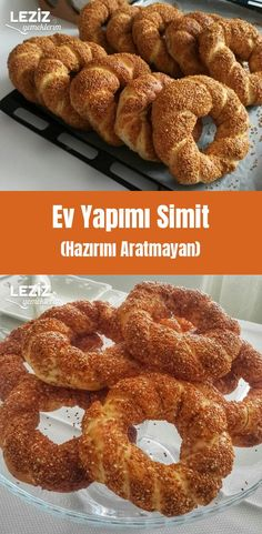 Ev Yapımı Simit (Hazırını Aratmayan) Breakfast Items, Breakfast Recipes, Food Humor, Deserts, Food And Drink, Yummy Food, Snacks, Dishes, Cooking
