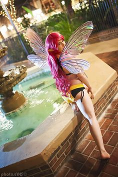 Pixie from X-Men Swimsuit