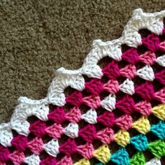 Tutorial for Meringue Edging @ BabyLove Brand
