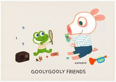 데이지와 포비의 여름  -굴리굴리 프렌즈 - GOOLYGOOLY FRIENDS  ------------------------------- < 모바일/PC 바탕화면 다운받기 > GOOLYGOOLY FRIENDS >> download http://grafolio.net/illustration/wallpaper.grfl?projectNo=28608