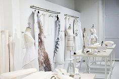 The Making of Fashion - haute couture behind the scenes; dressmaking studio; fashion atelier; fashion design // Givenchy