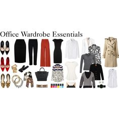 """Office Wardrobe Essentials"" by diamte on Polyvore"