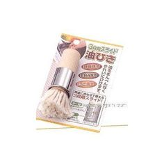 Cooking BBQ Grill Teppanyaki Oil Brush #5018 by JapanBargain. $6.50. Japanese Oil Brush are great for BBQ, Takoyaki, Teppanyaki, Yakitori Grill.. This Cooking Oil Brush are great for BBQ, Takoyaki, Teppanyaki, Yakitori Grill. * Brush Dimension: 3/4in Dia x 3-3/4in * Wooden Handle, Cotton Brush