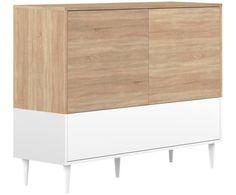 Sideboard Horizon im Skandi Design Shabby, Sideboard, Cabinet, Storage, Design, Furniture, Home Decor, Products, Round Rugs