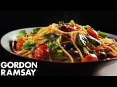 Pasta with Tomato, Anchovy and Chilli - Gordon Ramsay - YouTube
