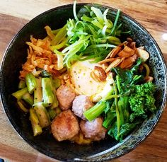Bowl of mazemen at Tonbo Ramen in Raleigh - #nctriangledining #ramen #izakaya #ncrestaurantreview #ncfood #ncrestaurant  #nceats #raleigh #raleighnc #raleighfood #raleighrestaurant #raleigheats