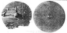 Schildbuckel Sonderformen © 1995-2000 Peter Beatson, Viking Shield from Archaeology