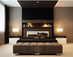Sophisticated Master Bedroom Contemporary Master Bedroom With Black  Comfortable Master Single Bed Wit.