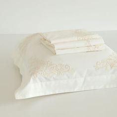 Embroidered Percale Bed Linen - Bed Linen - Bedroom | Zara Home Nederland
